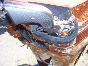 Mounted Cowboy 002