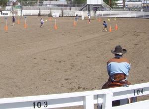 Mounted Cowboy 004