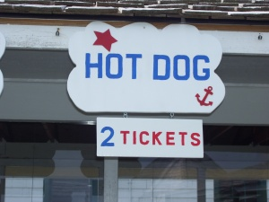 Hot Dog 2 tickets